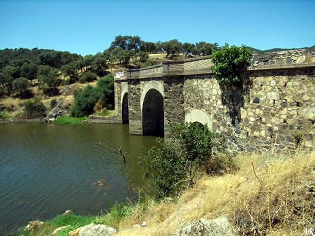 Presa de Huesna - Pantano de Huesna - Embalse de Huesna