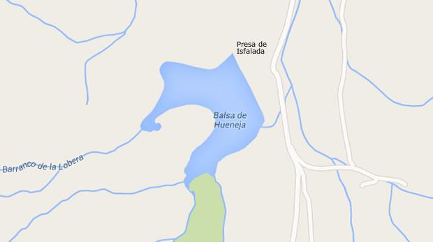 Presa de Isfalada - Embalse de Isfalada - Pantano de Isfalada - Balsa de Isfalada - Huéneja