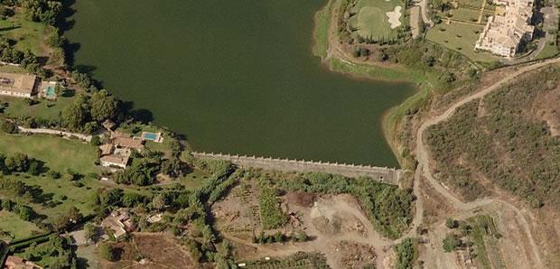 Presa de la Cancelada - Embalse del Taraje - Pantano de la Cancelada - Arroyo del Taraje