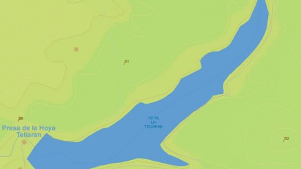 Presa de la Hoya Teliaran - Embalse - Calañas - Dam