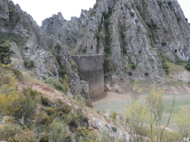 Presa de Montejaque - Embalse