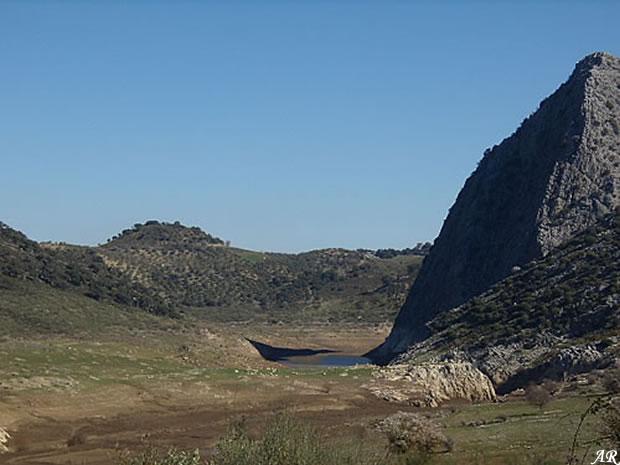 Presa de Montejaque - Embalse de Montejaque - Pantano de Montejaque