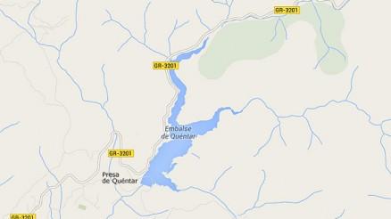 Presa de Quéntar - Embalse de Quéntar - Pantano de Quéntar - Granada