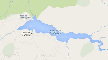 Presa de Quiebrajano - Embalse de Quiebrajano - Pantano de Quiebrajano - Valdepeñas de Jaén - Campillo de Arenas