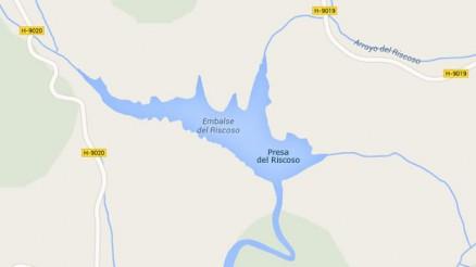 Presa del Riscoso - Embalse del Riscoso - Pantano del Riscoso - Calañas - Huelva