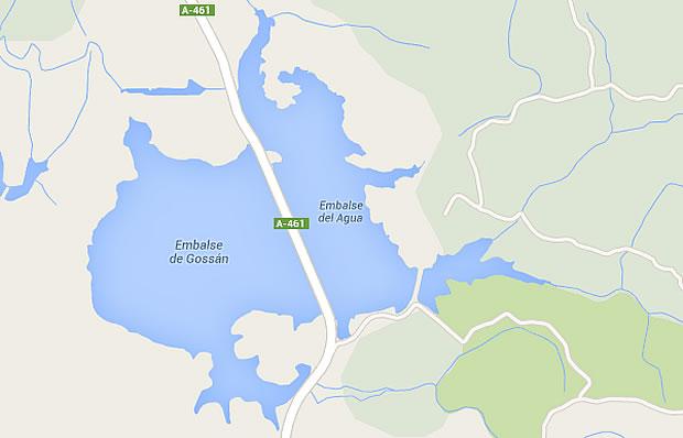 Presa del Agua - Embalse del Agua - Aracena