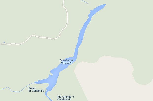 Presa El Centenillo - Embalse del Centenillo - Pantano del Centenillo - Baños de la Encina