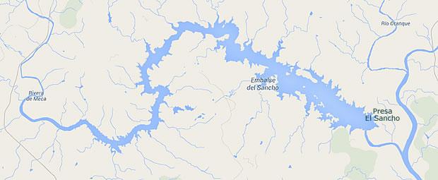 Presa El Sancho - Embalse El Sancho - Pantano El Sancho