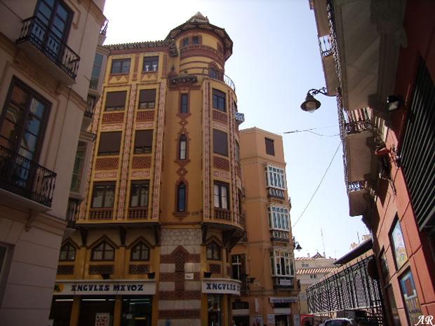 Málaga Edificio Sagasta 5 Guerrero Strachan