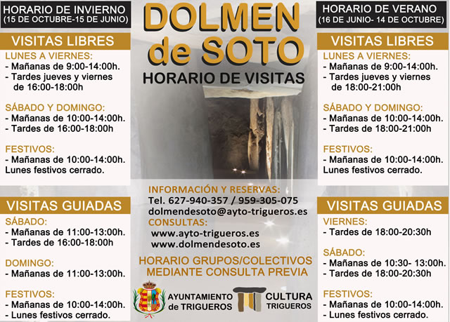 Dolmen de Soto, Trigueros, Huelva