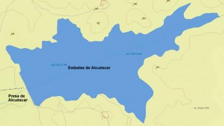 Presa del Embalse de Alcuéscar - Pantano de Alcuescar