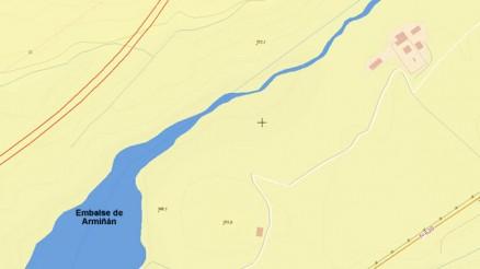 Presa del Embalse de Armiñán - Armiñan Dam and Reservoir
