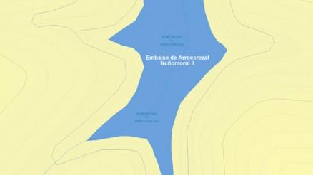 Presa de Arrocerezal - Embalse de Nuñomoral II - El Cerezal - Dam and Reservoir