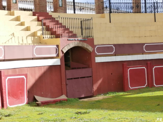 Plaza de Toros de Cortes de la Frontera - Coso Taurino - Tauromaquia 15/11/2016