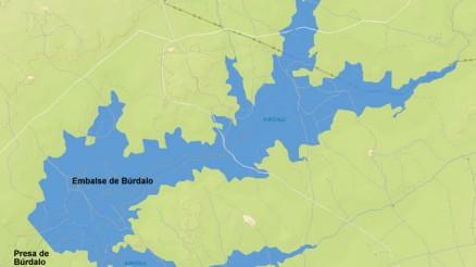 Presa del Embalse de Búrdalo - Pantano de Búrdalo - Dam and Reservoir