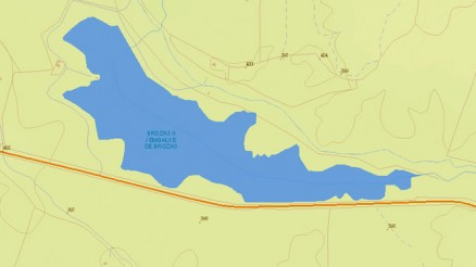 Charca de Patos Dam and Reservoir - Gravity Dam - Brozas II