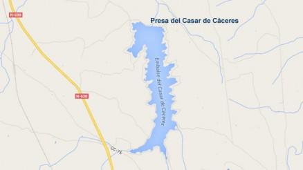 Embalse del Casar de Cáceres - Cuenca del Tajo