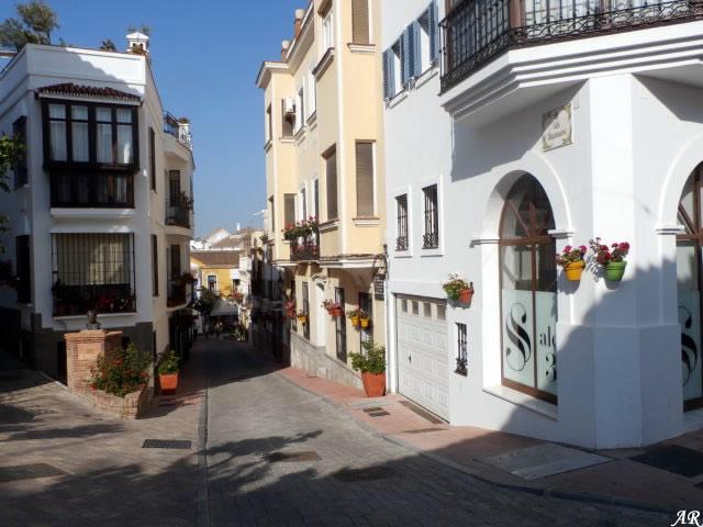 Calle Manzanares Estepona - Calle típica del pueblo