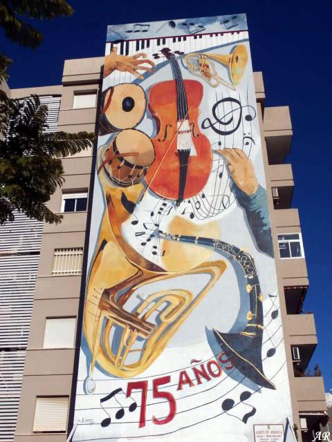 Mural Artístico Aires de Música Estepona - Ruta de Murales - Murals