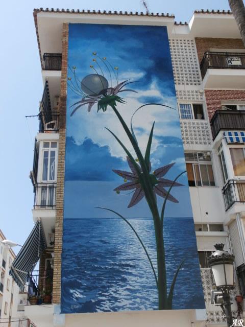 Mural Artístico en Bda. Los Remedios - Estepona - Ruta de Murales Artísticos
