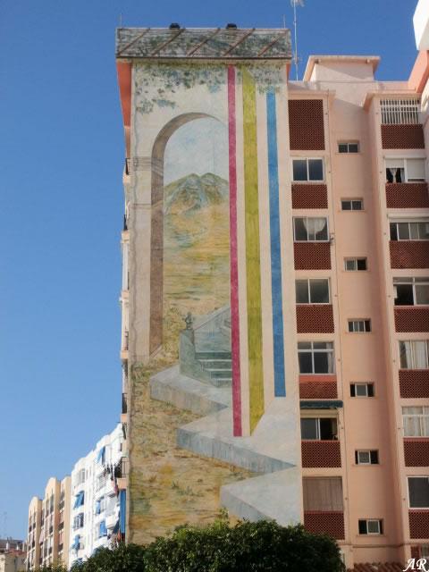 Mural Artístico en Bda. Mar y Sierra - Ruta de Murales Artísticos