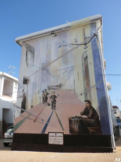 """Mural Artístico en C/ Dos de Mayo """"Sin Memoria no hay Historia"""" Ruta de Murales Artísticos"""