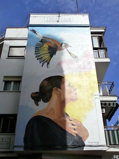 """Mural Artístico """"Sueños de Libertad"""" - Ruta de los Murales de Esteona - Murales Artísticos"""