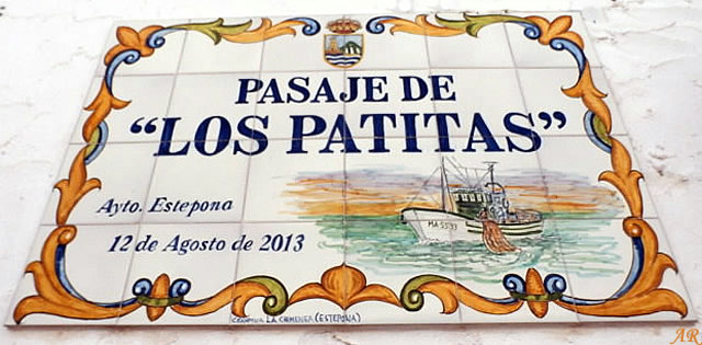 """Pasaje de """"Los Patitas"""" Estepona 26/06/2015"""