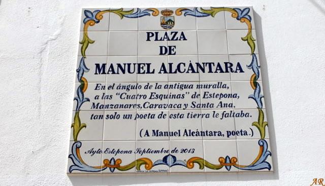 Plaza de Manuel Alcántara Estepona