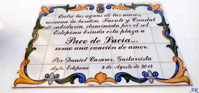 Plaza Paco de Lucía