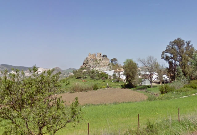Castillo de Vallehermoso, Castillo de Ayamonte, Castillo de Carasta, Olvera
