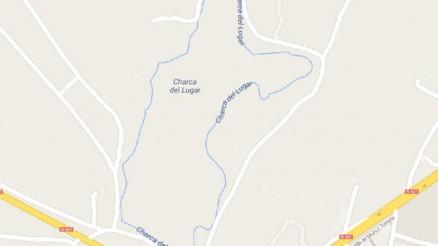 Presa del Embalse Charca del Lugar - Pantano Malpartida de Cáceres