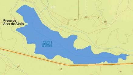 Presa de Arce de Abajo - Cuenca Hidrográfica del Tajo - Embalse de Arce de Abajo