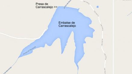 Presa del Embalse de Carrascalejo - Carrascalejo Dam