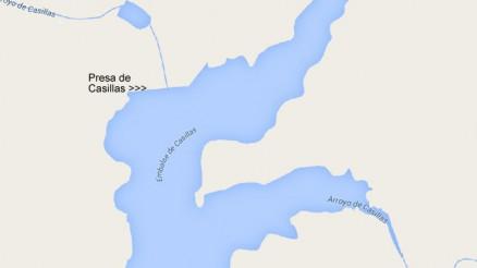 Presa del Embalse de Casillas I - Dam and Reservoir
