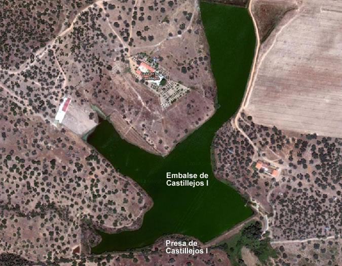 Embalse de Castillejos I - Presa de Castillejos I - Pantano de Castillejos I
