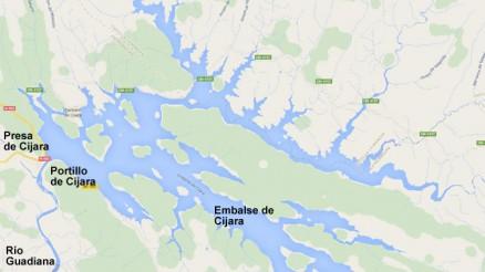 Embalse de Cijara - Presa de Cijara - Pantano de Cijara - Presa del Embalse de Cijara - Cuenca del Guadiana - Cijara Dam