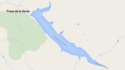 Embalse de la Garza - Presa de la Garza - Pantano de la Garza - Oliva de Mérida - Cuenca del Guadiana