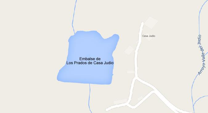 Presa del Embalse de los Prados de Casa Judio - Pantano de los Prados de Casa Judío - Presa - Plasencia - Cuenca del Tajo