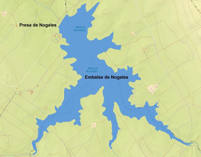 Presa del Embalse de Nogales