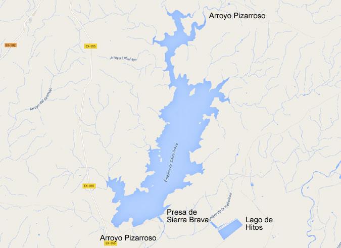 Sierra Brava Dam and Reservoir - Gravity Dam