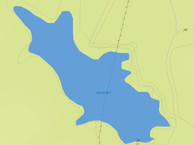 Valdelrey Dam and Reservoir - Charca de Valdelrey