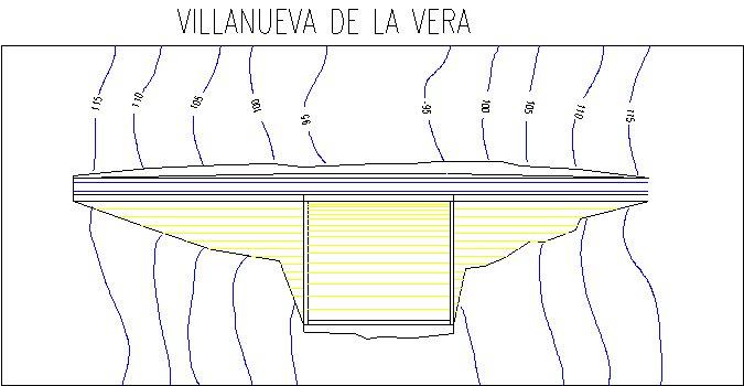 Villanueva de la Vera Dam and Reservoir