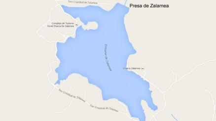 Presa del Embalse de Zalamea