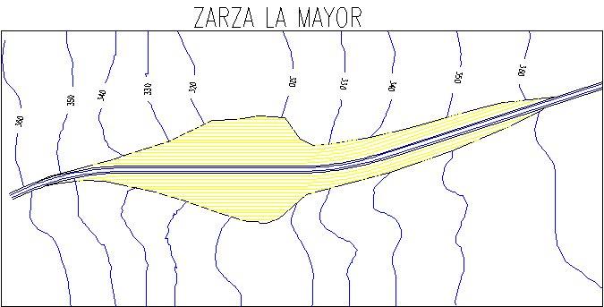 Embalse de Zarza la Mayor - Presa del Embalse de Zarza la Mayor - Pantano de Zarza la Mayor - Presa de Zarza la Mayor