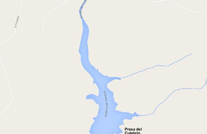 Embalse del Culebrín - Presa del Culebrín - Pantano del Culebrín - Monesterio