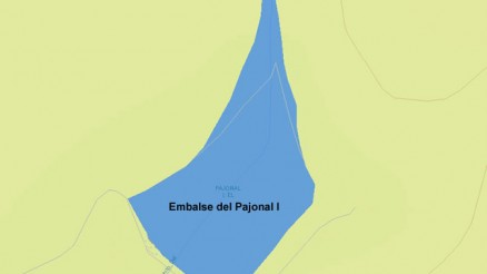 Embalse del Pajonal I - Embalse de Pajonal I - Presa de Pajonal I - Pantano de Pajonal I - Carmonita - Cuenca del Guadiana - Carmonita