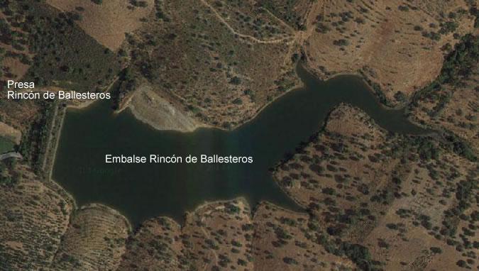 Rincon de Ballesteros Dam and Reservoir