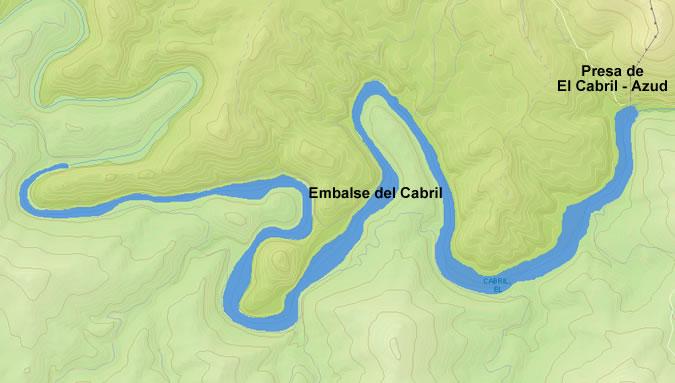 Presa de El Cabril - Embalse de El Cabril - Azud del Cabril - Hornachuelos