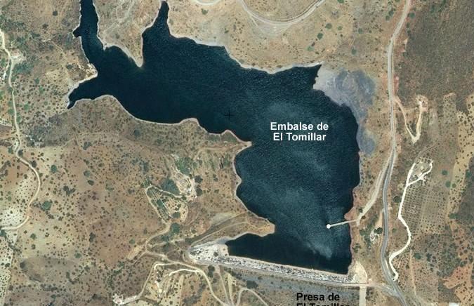 Embalse de El Tomillar - Presa de El Tomillar - Málaga - Dam